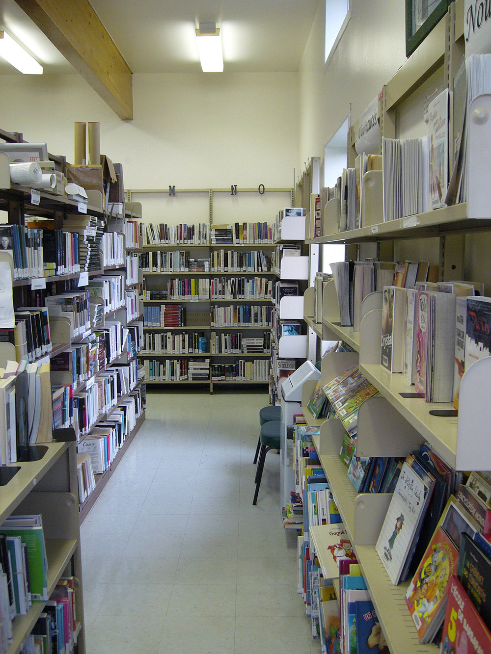 bibliotheque pierreville